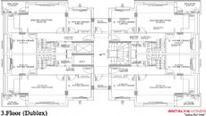 Orkide Huizen, Vloer Plannen-4
