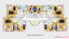 Asil Residence, Kat Planları-2