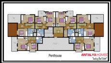 Aston Huset 1, Planritningar-1