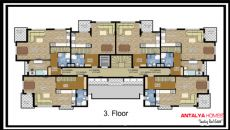 Aston Huset 1, Planritningar-4