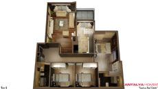 Maison Toros Park de Luxe Situé à Konyaalti, Antalya, Projet Immobiliers-3