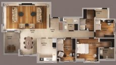 Fenerpark Premium Evleri, Kat Planları-1