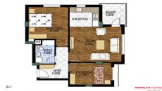 Golden Life Huizen 3, Vloer Plannen-1