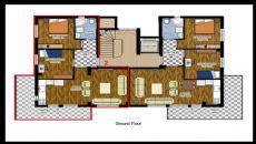 Hasan Bey Appartementen, Vloer Plannen-1