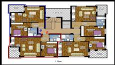 Hasan Bey Appartementen, Vloer Plannen-2
