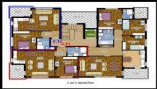 Hasan Bey Appartementen, Vloer Plannen-3