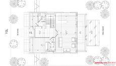 Villa Deren, Planritningar-1