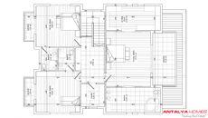 Villa Deren, Kat Planları-2