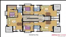 Aston Huset 3, Planritningar-1