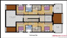 Aston Huset 3, Planritningar-3