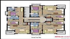 Aston Huizen 5, Vloer Plannen-1