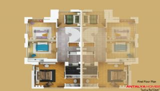 Greenside Villas, Vloer Plannen-2