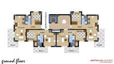 Appartements Dans Un Complexe de Qualité à Konyaalti, Projet Immobiliers-1
