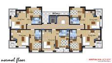 Appartements Dans Un Complexe de Qualité à Konyaalti, Projet Immobiliers-2
