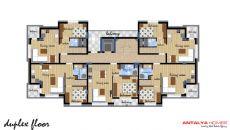 Appartements Dans Un Complexe de Qualité à Konyaalti, Projet Immobiliers-3