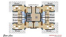 Jasmine Residence 8, Vloer Plannen-1