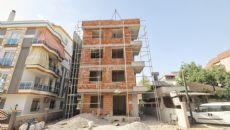 Апартаменты Ахалты, Фотографии строительства-1