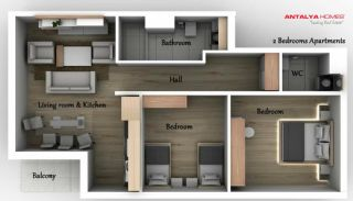 Venüs Park Wohnungen, Immobilienplaene-3