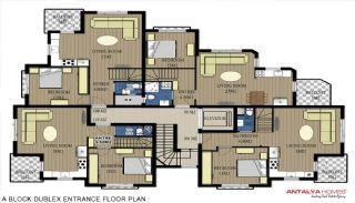 Via Life Residence, Kat Planları-1