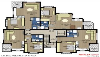 Via Life Residence, Kat Planları-4