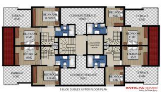 Via Life Residence, Kat Planları-6