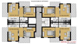 Via Life Residence, Kat Planları-7