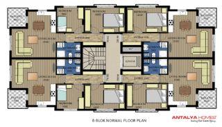 Via Life Residence, Kat Planları-8