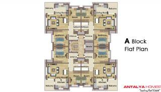 Aliyenur Residence, Planritningar-1