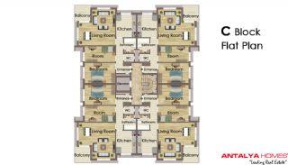 Aliyenur Residence, Planritningar-3