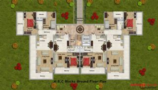 Royal Evleri, Kat Planları-1