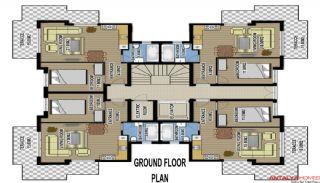 Zumrut Town Appartementen, Vloer Plannen-1