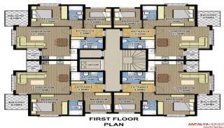 Zumrut Town Appartementen, Vloer Plannen-2