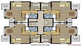 Zumrut Town Appartementen, Vloer Plannen-3