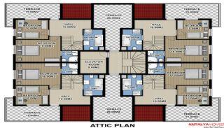 Zumrut Town Appartementen, Vloer Plannen-4