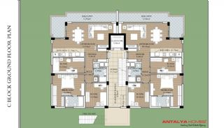 Modern Flats with Heating System in Konyaalti Antalya, Property Plans-4
