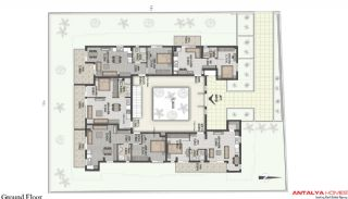 Lara Orkide Huizen, Vloer Plannen-3