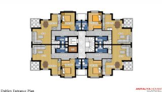 Luxurious Home in Complex with Rich Facilities in Antalya, Property Plans-1