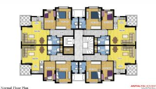 Luxurious Home in Complex with Rich Facilities in Antalya, Property Plans-3