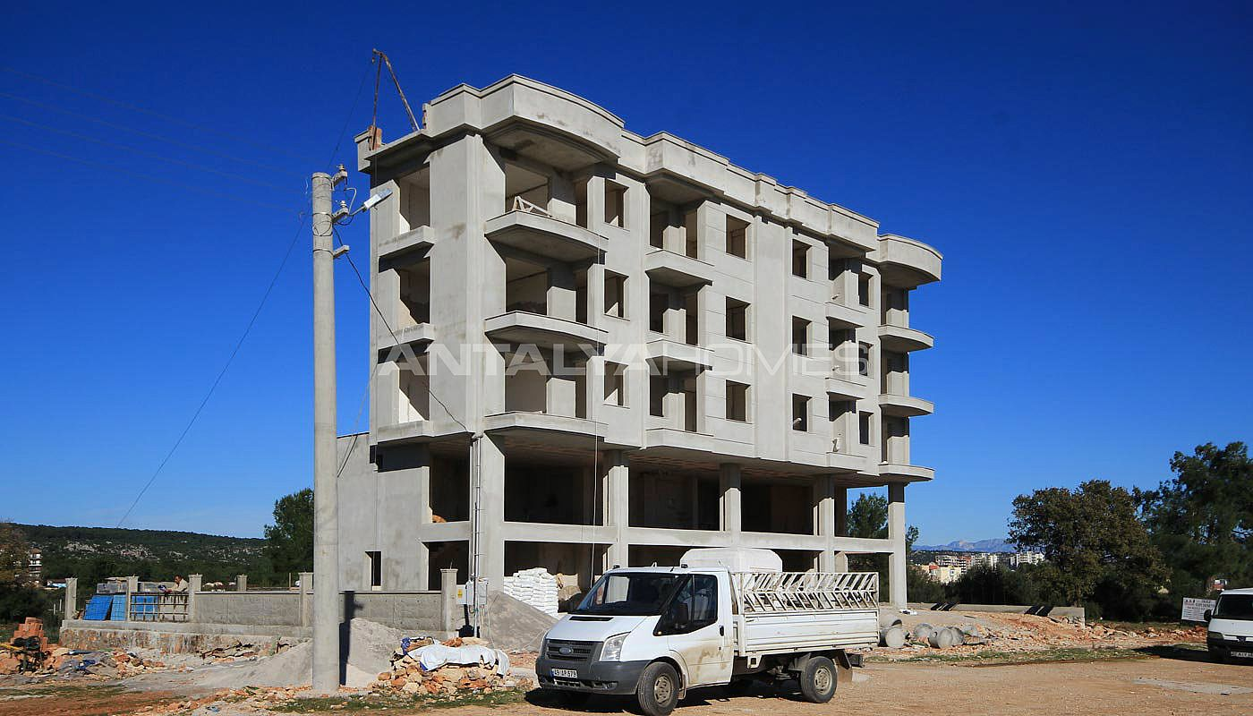 Appartements kale 3 aux prix abordables kepez antalya for Prix de construction