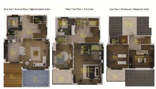 Art Suite Villaları, Kat Planları-1
