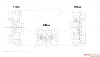 Manolya Residence  1, Planritningar-1