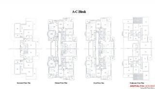 Manolya Residence  1, Planritningar-2