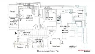 Dolce Vita Residence, Kat Planları-1