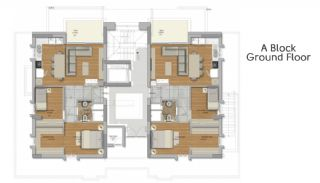 Suite Apartmanı, Kat Planları-1