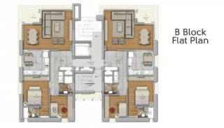 Suite Apartmanı, Kat Planları-4