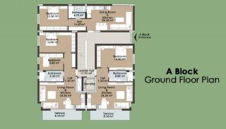 Kanyon 2156 Residence, Kat Planları-1