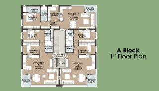 Kanyon 2156 Residence, Kat Planları-2
