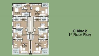 Kanyon 2156 Residence, Kat Planları-10