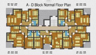 Amber Huset, Planritningar-2
