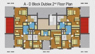 Amber Huset, Planritningar-4